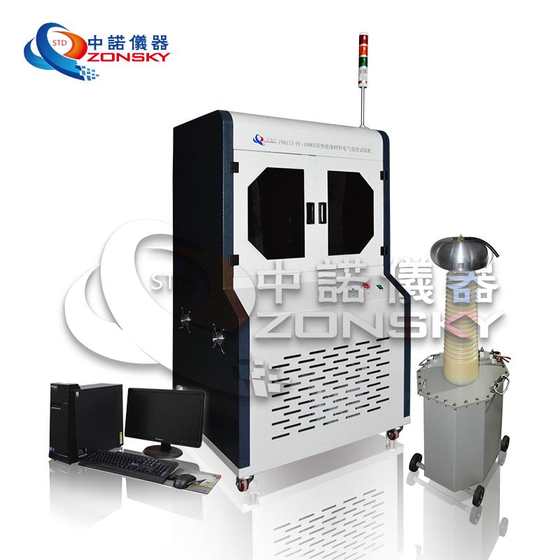 固体绝缘材料电介强度实验机